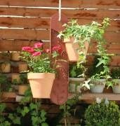 GardenGuard - Blumenampel BRAUN