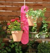 GardenGuard - Blumenampel VIOLETT
